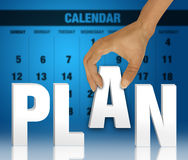 Planning concept Royalty Free Stock Photo