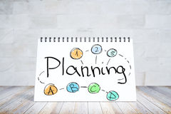 Planning en succes concept Royalty-vrije Stock Foto