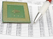 Planning and forecasting Royalty Free Stock Photo