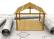 Planning Home Concept - 3D Stock Photos