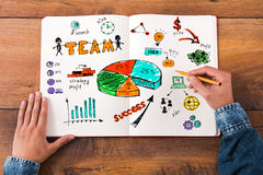 Planning is a key to success. Stock Photography