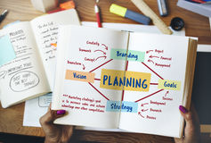 Planning Marketing Branding Strategy Concept. People Planning Marketing Branding Strategy royalty free stock photography