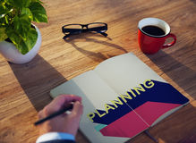 Planning Operation Objective Process Solution Concept Royalty Free Stock Image