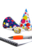 Planning a Party Royalty Free Stock Photography