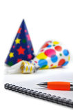 Planning a Party Royalty Free Stock Image