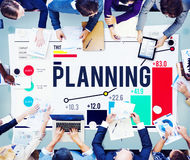 Planning Plan Ideas Guidelines Mission Strategy Concept Stock Images