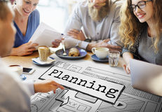 Planning Progress Solutions Guide Design Concept Stock Images