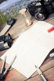 Planning road trip Royalty Free Stock Photo