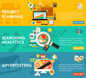 Planning Searching Analytics Advertising Concept Stock Image