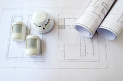 Planning security systems Stock Images