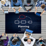 Planning Strategy Vision Collaboarate Solutions Concept Royalty Free Stock Photos