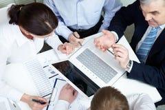 Planning team Stock Photo