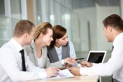 Planning team Royalty Free Stock Images