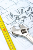 Planning To Build A House Stock Image