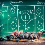 Planning to win in ice hockey Royalty Free Stock Photos