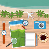 Planning Travel Concept Stock Photos