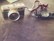 Planning for travel and tourism in various forms. Stock Photography