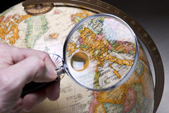 Planning a trip Royalty Free Stock Photos