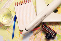 Planning A Trip Stock Images