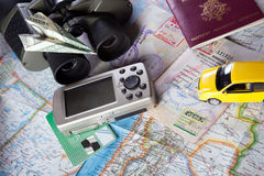 Planning a vacation Royalty Free Stock Photography