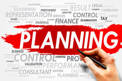 Planning Royalty Free Stock Image