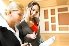 Planning work Stock Image