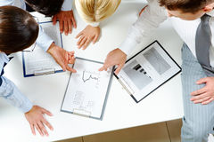 Planning work Stock Photos