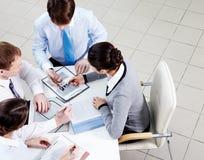 Planning work Stock Photos