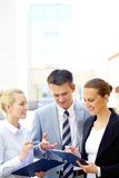 Planning work Royalty Free Stock Photos