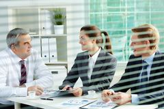 Planning work Stock Image