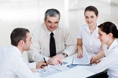 Planning work Royalty Free Stock Images