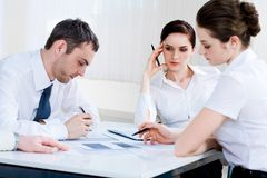 Planning work Royalty Free Stock Image