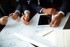 Planning work Stock Photo
