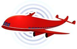 Plano Aero ilustração do vetor