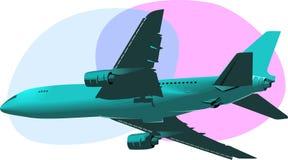 Plano Aero Foto de Stock Royalty Free