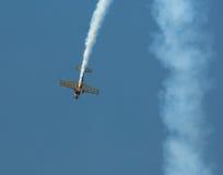 Plano aeroacrobacia Fotografía de archivo