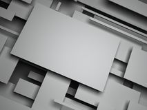 plano 3d O sumário rende Imagem de Stock