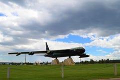 Plano da academia de força aérea foto de stock