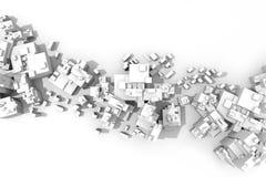 Plano da cidade Foto de Stock Royalty Free