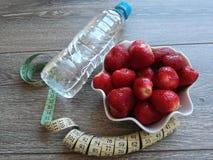 Plano da dieta das necessidades da vida de Healty fotografia de stock