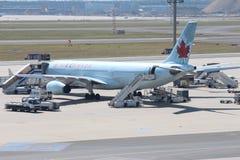 Plano de Air Canada Imagens de Stock Royalty Free