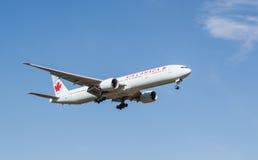 Plano de Air Canada Imagens de Stock