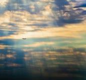 Plano de aire Foto de archivo