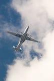 Plano de aire del motor Imagen de archivo libre de regalías