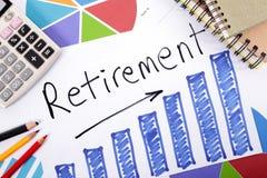Plano de aposentação Imagens de Stock Royalty Free