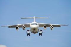 Plano de aterragem Imagens de Stock Royalty Free