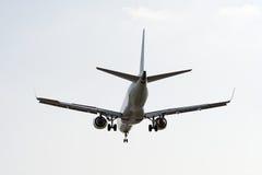 Plano de aterragem Fotografia de Stock