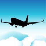 Plano de aterrissagem Fotos de Stock