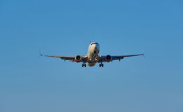 Plano de aterrissagem de Air Canada Fotos de Stock Royalty Free