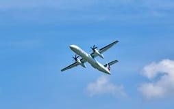 Plano de aterrissagem expresso de Air Canada Imagem de Stock